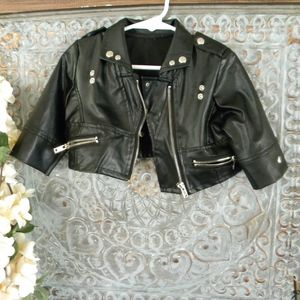 Other - baby leather jacket